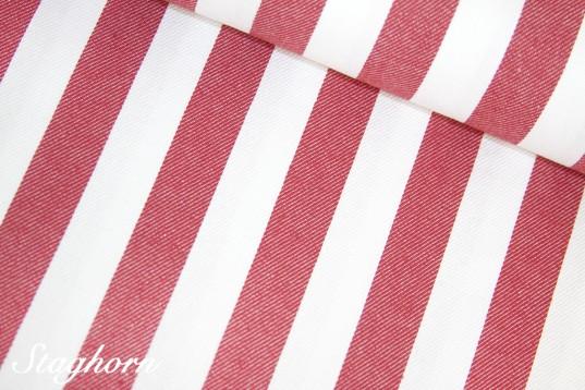 Super Sonderpreis Jeans Streifen *rot* 2cm