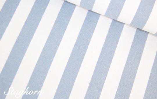Super Sonderpreis Jeans Streifen *hellblau* 2cm