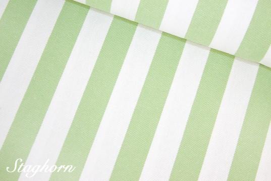 Super Sonderpreis Jeans Streifen *hellgrün* 2cm