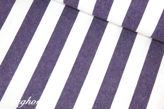 Super Sonderpreis Jeans Streifen *lila* 2cm