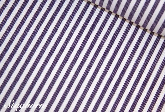Super Sonderpreis Jeans Streifen schmal *lila* 0,3cm