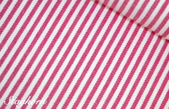 Super Sonderpreis Jeans Streifen schmal *pink* 0,3cm