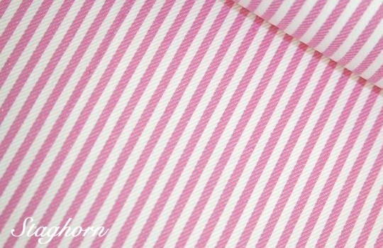 Super Sonderpreis Jeans Streifen schmal *rosa* 0,3cm