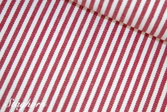 Super Sonderpreis Jeans Streifen schmal *rot* 0,3cm