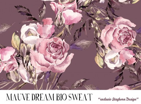 *Mauve Dream* Bio Sweat *Sewing Girls Serie*