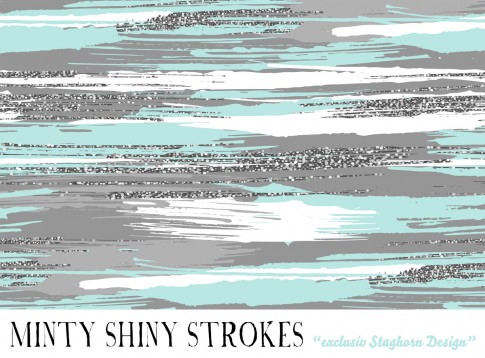 *Minty Mint* Bio Jersey *Strokes Serie*