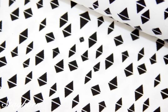 Grafik Jersey *Triangles* weiß