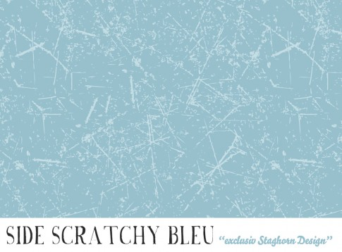 *Side Scratchy Bleu* Bio Jersey *Igel Party Serie*