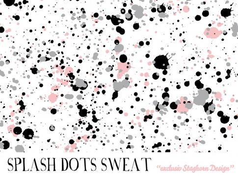 *Follow your heart* Splash Dots Bio Sweat
