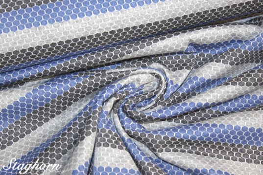 Sport Jersey *grau rauchblau* Funktionsstoff *Sporty* - elastisch