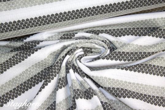 Sport Jersey *grau weiß* Funktionsstoff *Sporty* - elastisch