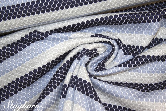 Sport Jersey *navy hellblau* Funktionsstoff *Sporty* - elastisch