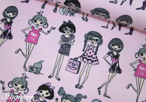 Stenzo Jersey rosa *Girlie Girls Number 3*- Ökotex