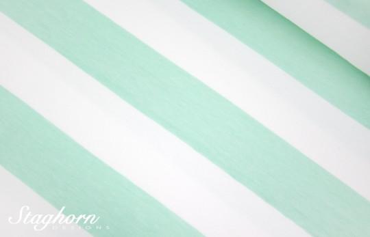 Big Stripes Bio-Jersey sweet mint