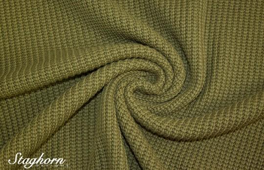 Grobstrick Vintage Style *olive* *brandneu* - Baumwollstrick