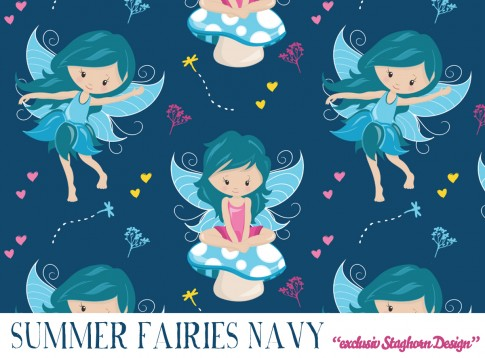 Summer Fairies Jersey navy