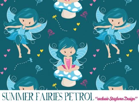 Summer Fairies Jersey petrol