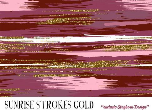 VORBESTELLUNG *Sunrise Strokes* Bio Jersey *Strokes Serie*