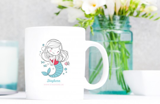 1 Staghorn exclusive Tasse *Mermaid Girls*