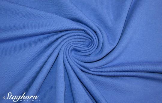 *Brandneu* uni jeans blau Sweat - Ganz Jahres Sweat - elastisch - Oeketex