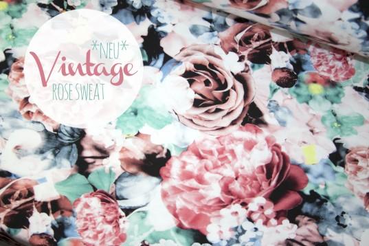 Vintage Love Sweat *Watercolor*