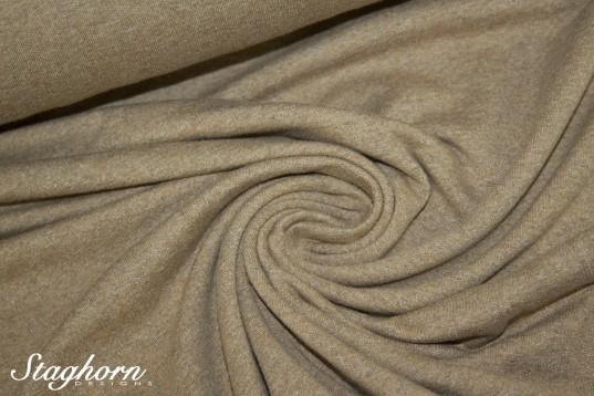 Vintage Sweat Denim Style *soft* senf meliert - elastisch - Ökotex